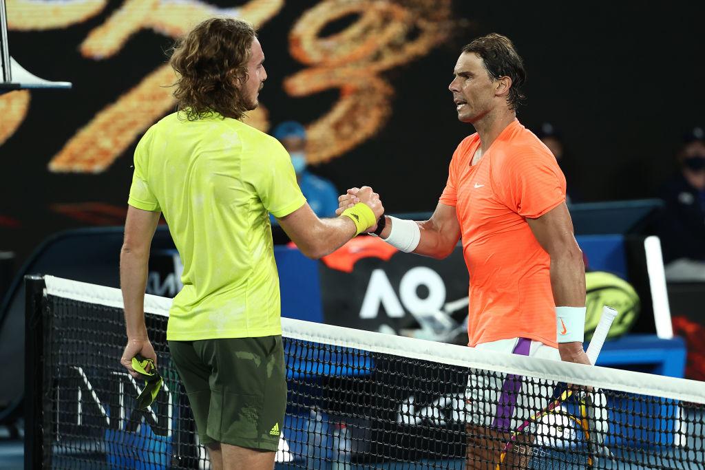 Rafa Nadal loses to Tsitsipas at Australian Open
