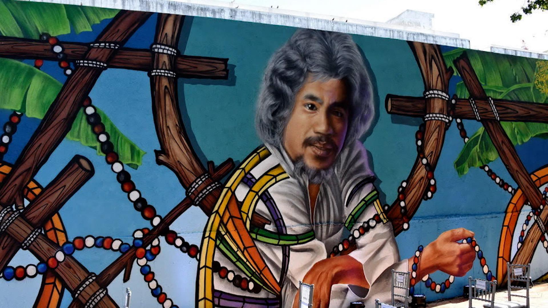 Inauguran mural en honor al legendario músico Johnny Pacheco en República Dominicana