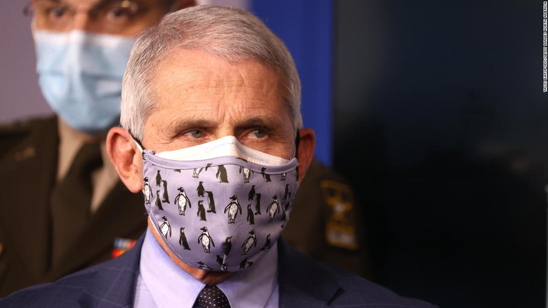 Fauci: We may wear Covid-19 Masks until 2022
