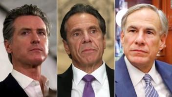 ANÁLISIS | Gobernadores de EE.UU. bajo fuego mientras tres grandes estados enfrentan crisis mortales