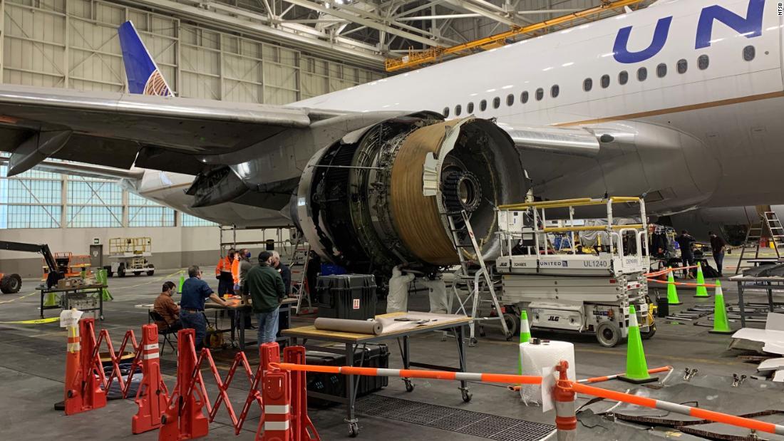 Investigadores publican hallazgos preliminares sobre la falla del motor de vuelo de United Airlines. Esto es lo que sabemos