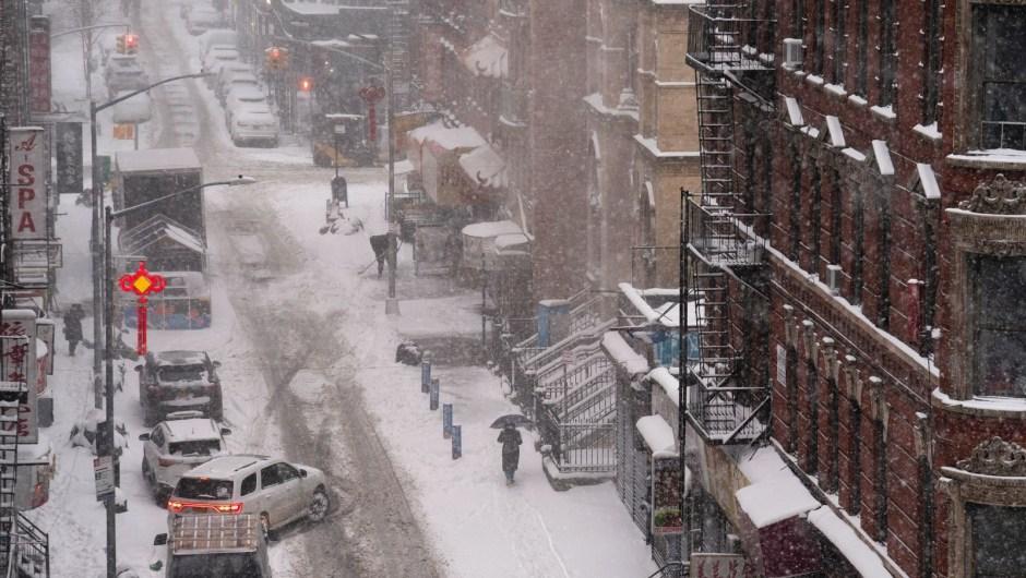 Tormenta de nieve Estados Unidos