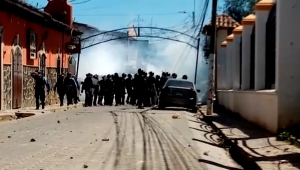 protestas honduras