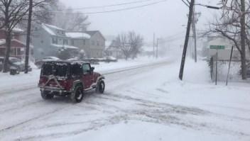Tormenta de nieve en EE.UU. deja varias afectaciones