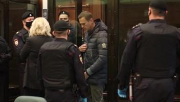 Alexey Navalny comparece ante una corte rusa