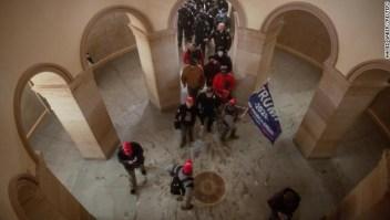 Estos son los nuevos e impactantes videos del ataque al Capitolio