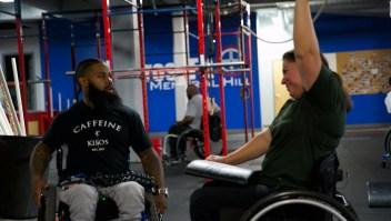 Creó una organización de entrenamiento físico para discapacitados
