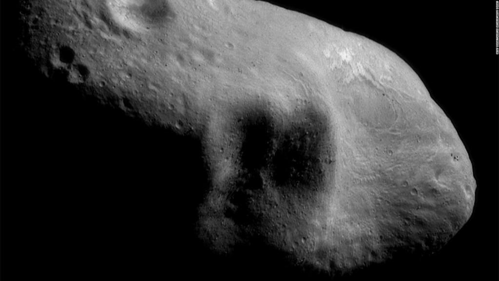 Hallazgo inédito en la muestra de un asteroide