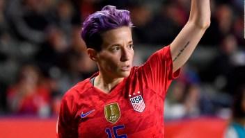 Megan Rapinoe reclama igualdad salarial para deportistas
