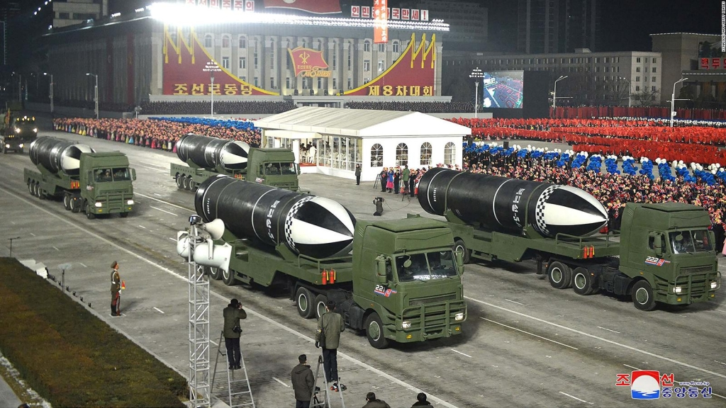 Advierten que Corea del Norte prepara un ensayo de armas