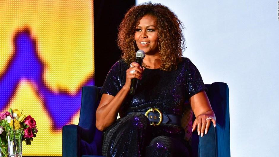 Michelle Obama habla sobre Meghan