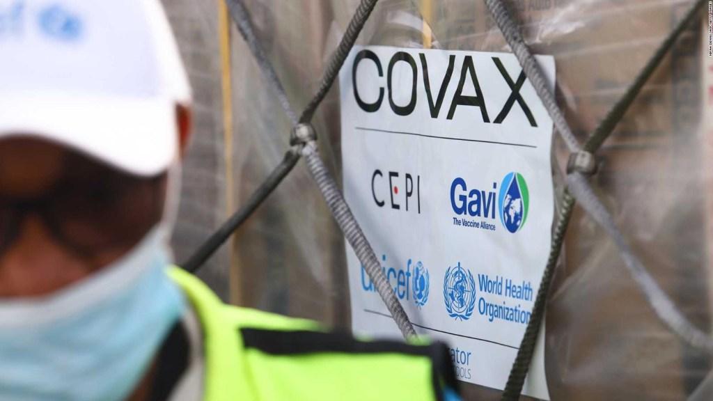 Dan 20 millones de dosis de la vacuna con mecanismo Covax