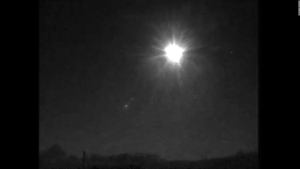 Un meteorito ilumina al Reino Unido