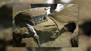 Pompeya: encuentran carroza romana casi intacta