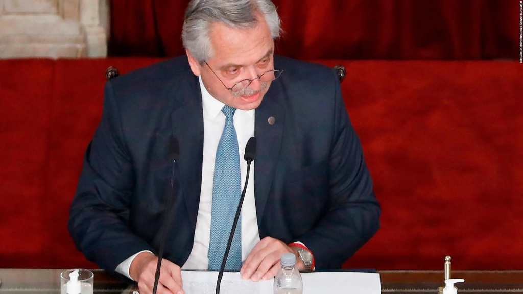 Longobardi sobre el discurso de Fernández en el Congreso