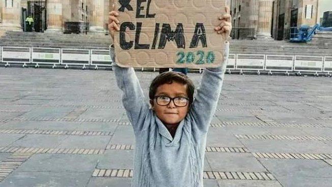 Francisco Vera y las comparaciones con Greta Thunberg