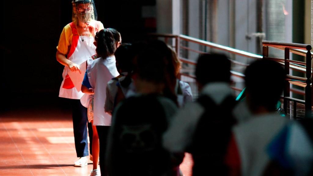 Así es el regreso a clases en la Provincia de Buenos Aires