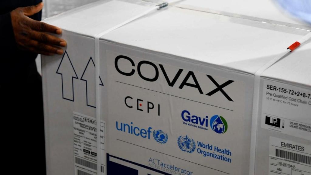 El calendario de entrega de vacunas del mecanismo Covax