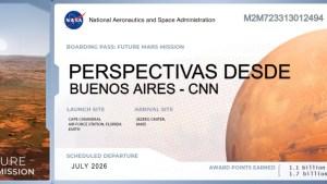 Así puedes hacer que tu nombre esté en Marte