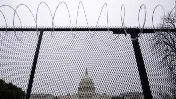 Capitolio se protege ante posibles incidentes el jueves