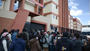 Investigan el accidente mortal en universidad en Bolivia