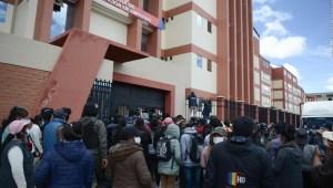 Investigan el accidente mortal en universidad en Bolivia