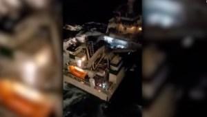 Impactante rescate en altamar de 30 tripulantes