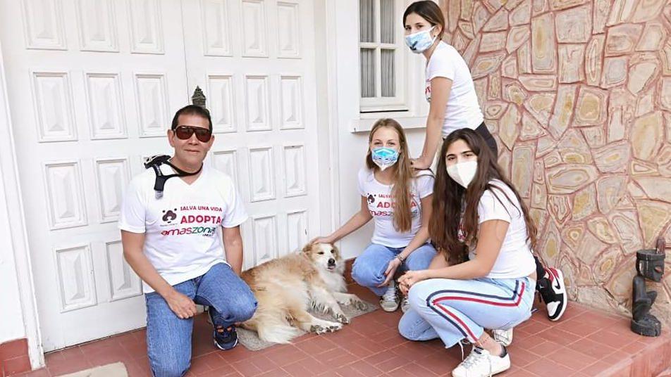 Gasta hasta US$ 3.000 al mes para los perros callejeros