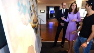 Príncipe William y Catalina, duquesa de Cambridge, apoyan salud mental