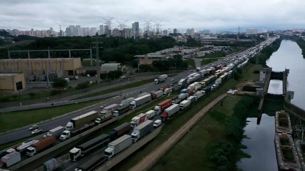 Sao Paulo: protestan contra restricciones por pandemia