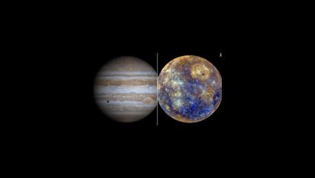 Observa la conjunción planetaria entre Júpiter y Mercurio