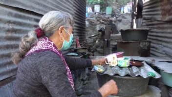 Más hambre en El Salvador por huracanes y pandemia