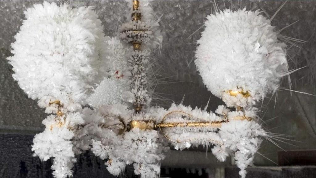 Dentro de un pueblo fantasma congelado de Rusia