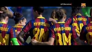 FC Barcelona se une a conmemoración del Día de la Mujer