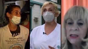3 historias de mujeres luchando en tiempos de pandemia