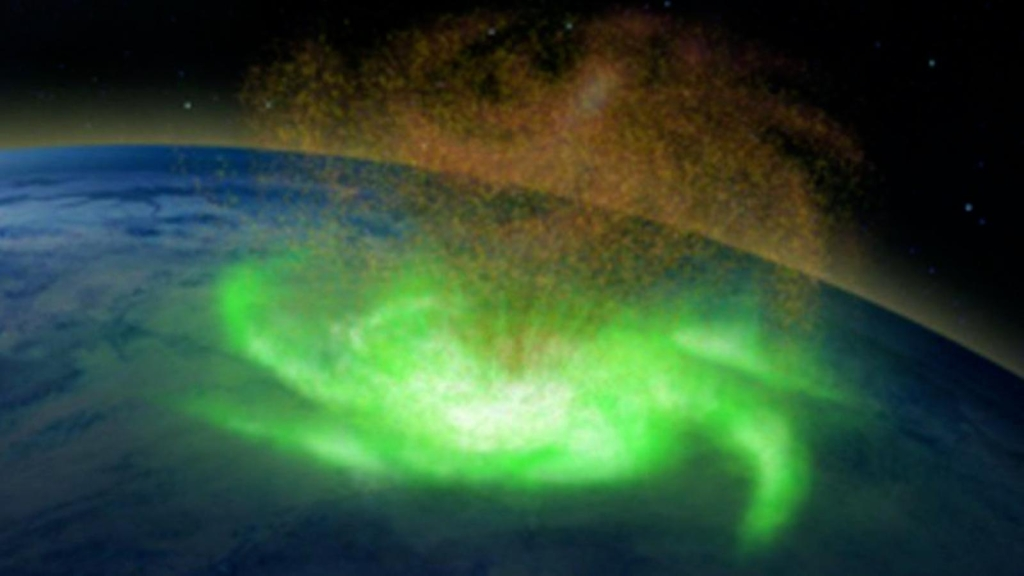"""reveal """"Space Hurricane"""" for the first time"""