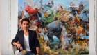 Combatir la depresión con arte, así lo hizo este artista
