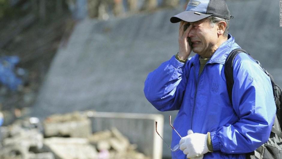 Desastre Tohoku tsunami CNN