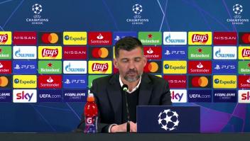 Champions: técnico del Porto, sin preguntas de la prensa