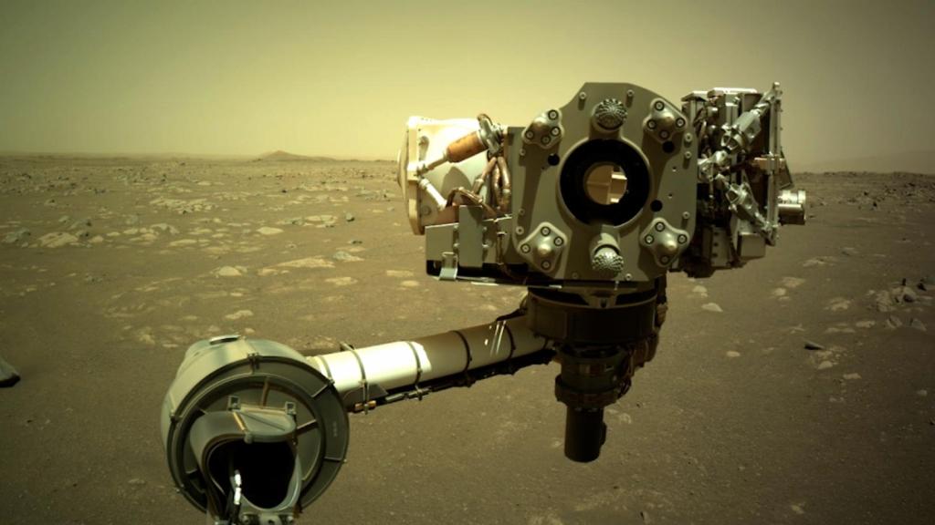 Perseverance rover envía sonidos desde Marte