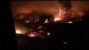 Incendios afectan la Patagonia argentina