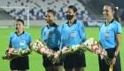 Este partido de fútbol fue arbitrado completamente por mujeres
