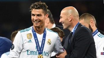 Zidane alaba a Cristiano, pero no entra en rumores