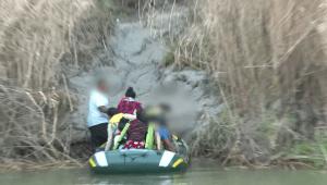 Decenas de migrantes son avistados cruzando a EE.UU.