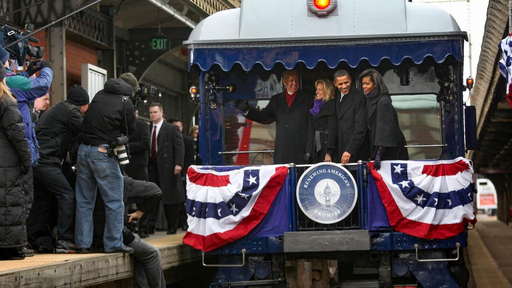 Conoce la historia del tren presidencial de EE.UU.