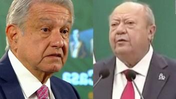 AMLO dice que Carlos Romero Deschamps renuncia
