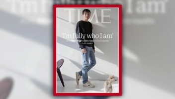 Elliot Page, portada de Time