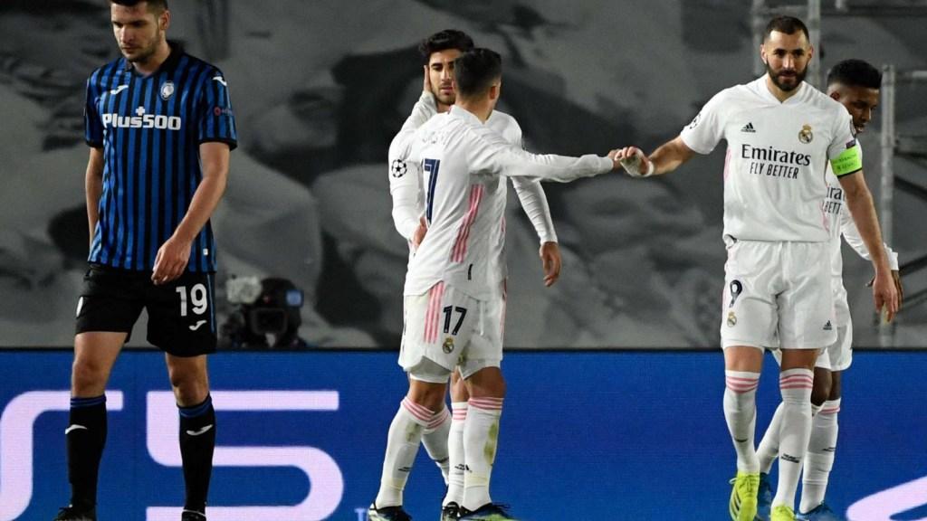 Real Madrid clasifica a cuartos de final de la Champions