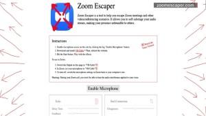 Crean una aplicación para huir de reuniones por Zoom