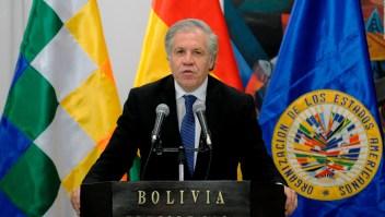 Bolivia apunta sus cañones contra secretario general de la OEA